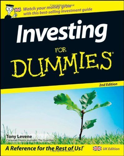 Investing For Dummies,Tony Levene