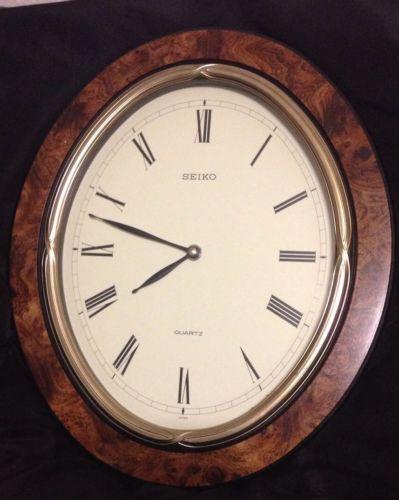 Seiko Clock Ebay