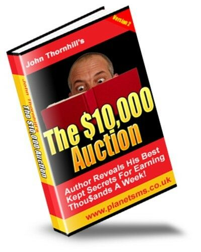 FOR A SHORT TIME - THE SECRETS TO GENERATING OVER $50,000 IN SALES ON EBAY!