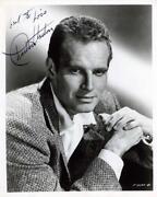 Charlton Heston Signed