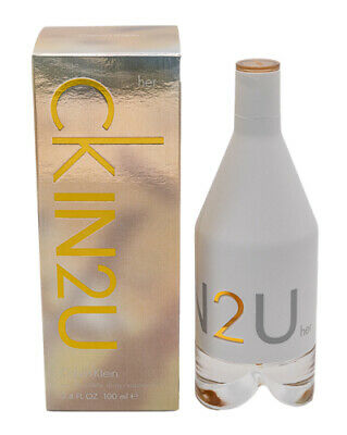 CK IN2U for Her * Calvin Klein * Perfume for Women * 3.4 oz * NEW IN BOX