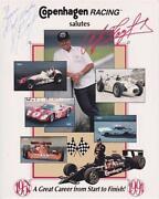AJ Foyt Autograph