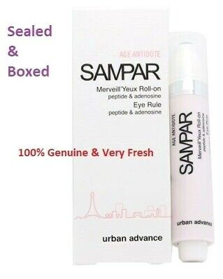 SAMPAR Age Antidote Eye Roll On Peptide & Adenosine 10ml, New & Boxed RRP: £48 Age Antidote Eye