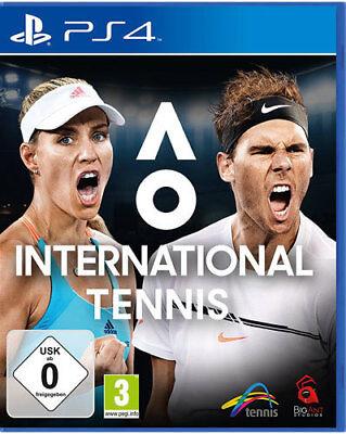Sony PS4 Playstation 4 Spiel AO International Tennis NEU NEW 55