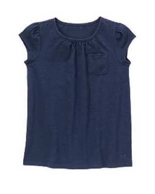 Nwt Gymboree Girls Prep Perfect Navy Blue Pocket Flutter Sleeve Top Size 4 5   6