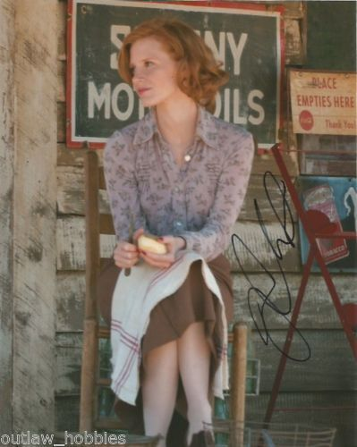 Jessica Chastain Lawless Autographed Signed 8x10 Photo COA #12