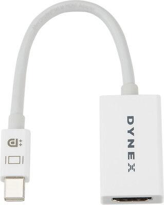 Dynex- Mini DisplayPort-to-HDMI Adapter - White
