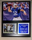 Andrew Luck NFL Plaques