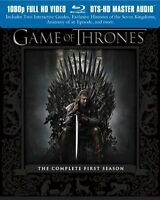 Game Of Thrones saison 1 à 4 en blu-ray