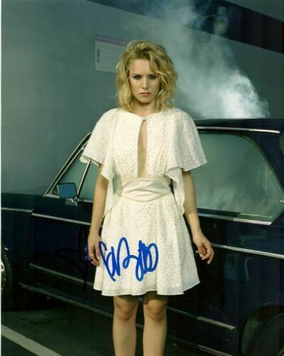 Kristen Bell Frozen Sexy Autographed Signed 8x10 Photo COA AB011