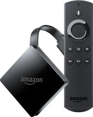 2017 New Amazon Fire Tv Box 4K Ultra Hd Streamer With Alexa   Sealed