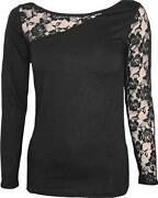 Ladies Long Sleeve T Shirt