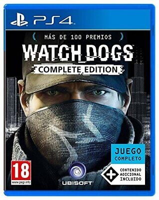 Watch Dogs - Complete Edition [Sony PlayStation PS4 Region Free] NEW for sale  Shipping to Nigeria