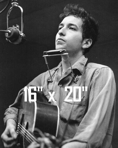 """Bob Dylan~Photo~Poster~  16"""" x  20"""""""
