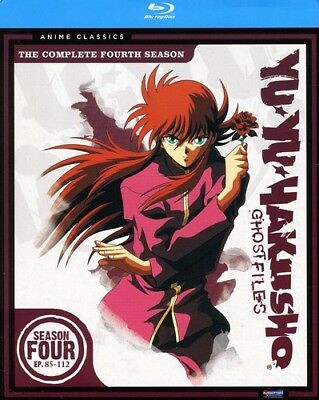 Yu Yu Hakusho: Season Four - Classic [New Blu-ray] Boxed Set