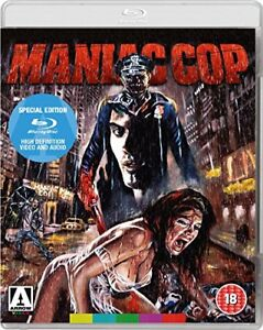 MANIAC COP (1988 - Arrow Video) Blu-Ray BRAND NEW Free Ship USA Compatible