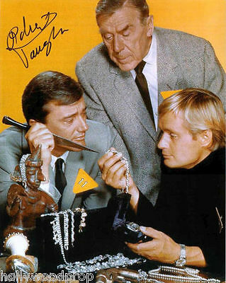 Robert Vaughn Signed The Man From Uncle Photo Poster Autograph W  Notarized Coa