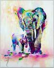 Unbranded Elephants Decorative Posters