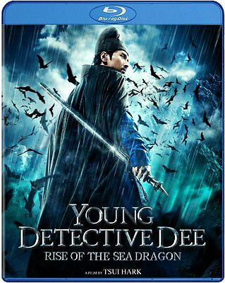 Young Detective Dee  Rise Of The Sea Dragon  Blu    Brand New Free Shipping  B15