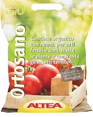 Altea Abono Orgánica Aceite Neem Insecticida 4,5KG Ortosano Azadirachta