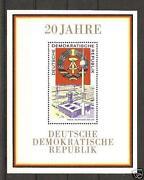 20 Jahre DDR