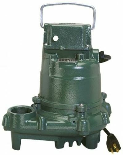 Zoeller 53-0002 Mighty Mate 1/3 Hp Manual Submersible Sump Pump