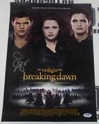 Breaking Dawn Signed
