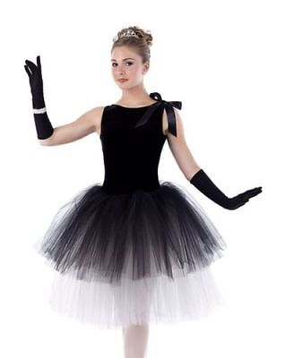 Child XS Tiffanys Swan Lake Romantic Ballet Tutu Dance Costume CLOSING SALE!](Girls Black Swan Costume)
