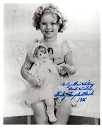 Shirley Temple Signed Photo