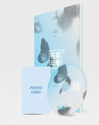 BTS-[In The Mood For Love] PT.2 4th Mini Album Blue Ver CD+Photo Book+Card K-POP
