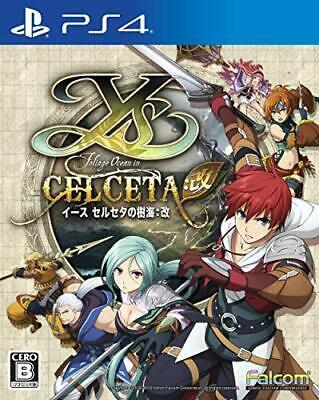 Ys Celseta no Jukai: Kai First Limited Music CD Reprint Edition PS4