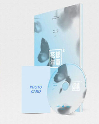 BTS-[IN THE MOOD FOR LOVE] PT.2 4th Mini Album Blue Version CD+Book+Card Sealed