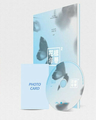 BTS-[IN THE MOOD FOR LOVE] PT.2 4th Mini Album Blue Ver CD+Book+Card+Tracking