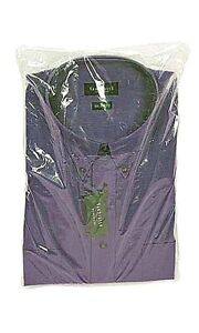 100-Qty-9-x12-Clear-Plastic-Dress-Shirt-Bags-with-2-Flap