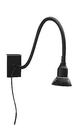 Wire Grid Light Lighting Led Wiregrid Black Retail Display Flexible Arm