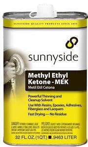 Sunnyside Methyl Ethyl Ketone (MEK) - 946 ml (1 us qt)-New Stock