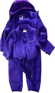3-in-1 Columbia Snow Suit, size 6-12 month