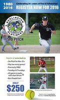 Burlington Oldtimers SloPitch League - Register for 2016