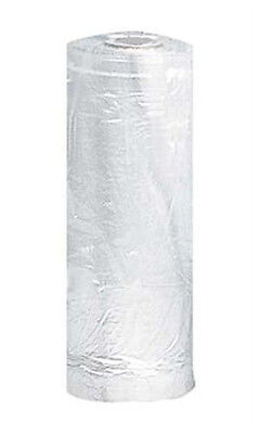 Plastic Garment in Clear Finish 21W x 3D x 72H Inches 243 Bags Per Roll