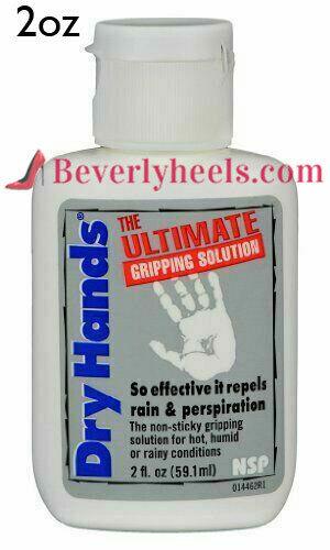 DRY HANDS 2 oz. Sport Grip Powder for Pole Dancing, Baseball, Golf, Tennis, Rain