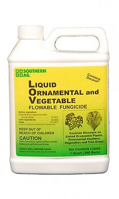 Southern Ag Daconil Liquid Ornamental and Vegetable Fungicide 32oz. -