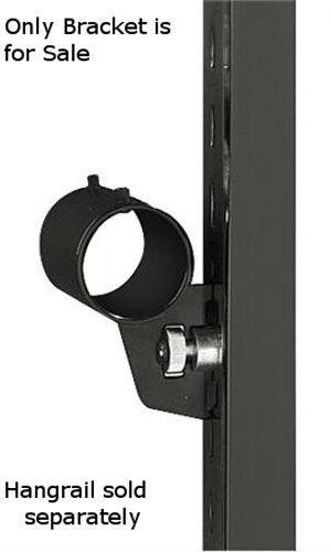 Round Hangrail Bracket 3 Inches - Case of 10