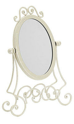 New Retails Ivory Boutique Countertop Jewelry Display Mirror 11 ½ Inch H