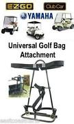 Golf Cart Bag Attachment