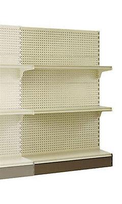 New Retails Metal Shelving Add-on Merchandise Wall Units 84h X 48l X 16d