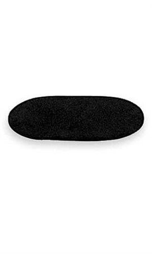 Black Velvet Oval Shaped Pad 7 x 11 Inches - Lot of 10