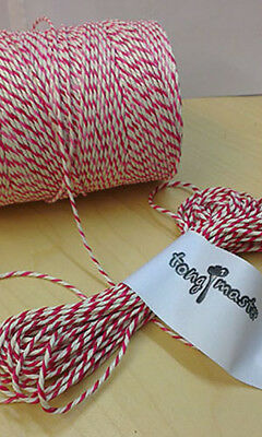Red White Butchers Bakers Catering String Twine 300mt 500g Food Safe Certified