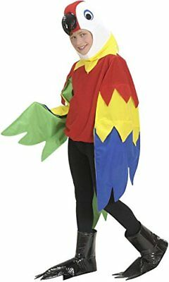 Childrens Parrot Child 140cm Costume for Animal Jungle Farm Fancy Dress](Farm Animal Costumes For Kids)
