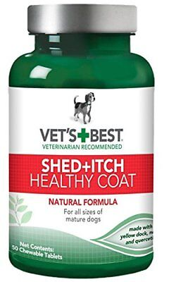 Vet's Best Healthy Coat Shed and Itch 50