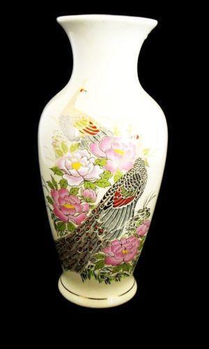 Peacock Vase Ebay